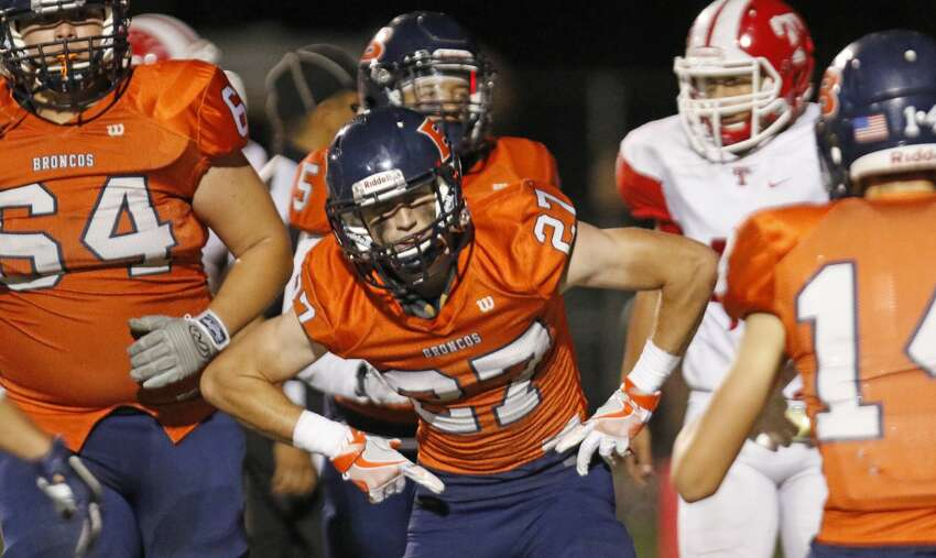 No. 19 - Brandeis Broncos*Record 7-3 6A Region IV District 28Opponents with a winning record: 3 Week 11 result: L - Brandeis 57, Jay 58Week 11 rank: 15*Did not make the playoffs