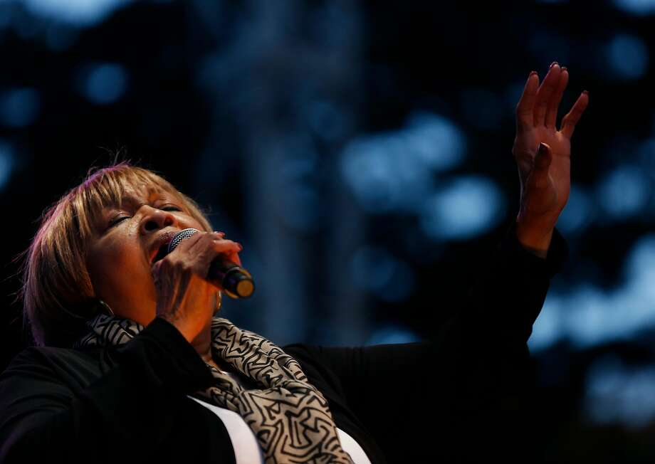 Mavis Staples performs during the first day of the annual Hardly Strictly Bluegrass festival in Golden Gate Park Sept. 30, 2016 in San Francisco, Calif. Photo: Leah Millis, The Chronicle