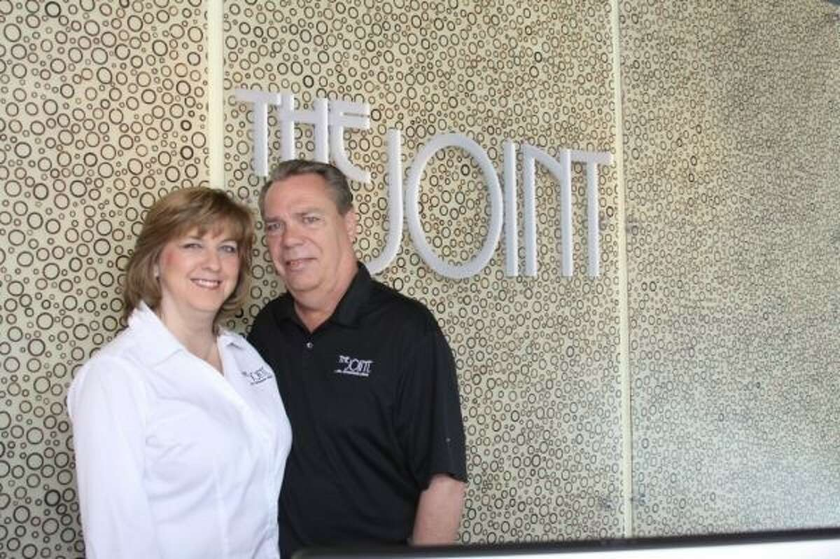 Susan and Doug Stewart will officially open their first franchise location of The Joint at Market Street Jan. 25.