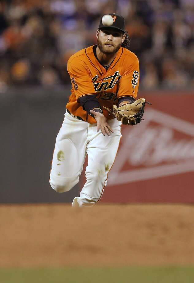 Brandon Crawford raised his stature offensively in 2016. Photo: Michael Macor, The Chronicle