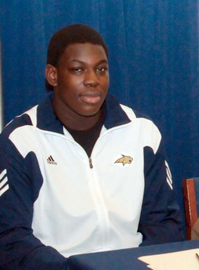 Folabi Akanbi, 17, collapsed around 2 p.m. during a pickup basketball game with friends at Silverlake Elementary School. The 6-foot-5, 290-pound senior played lineman for the Dawson Eagles and had recently signed a National Letter of Intent to play football at Montana State.