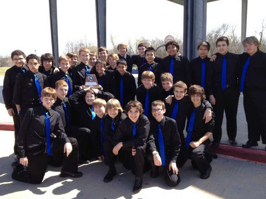The Friendswood Junior High Mustang Chorus.