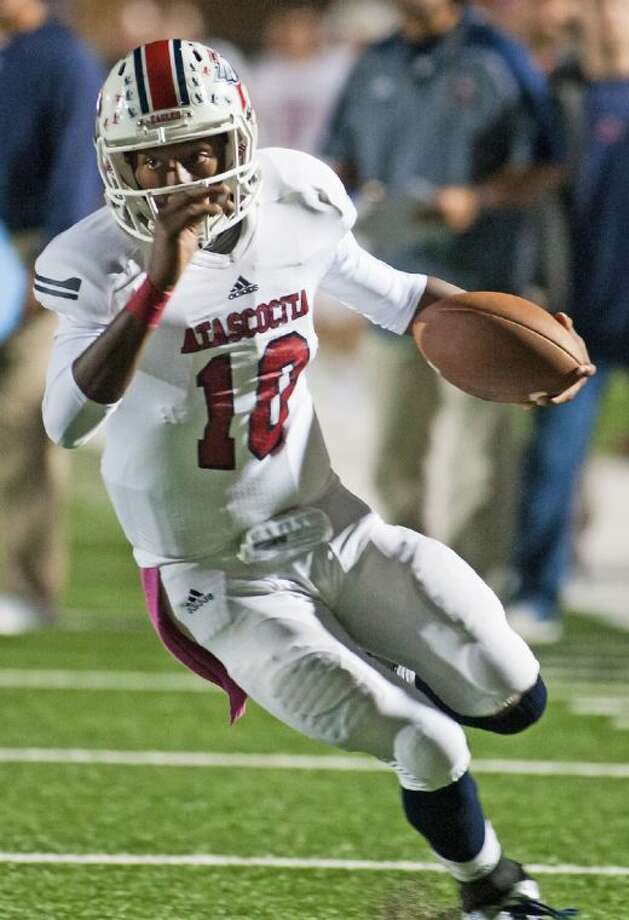 Atascocita's Greg Campbell was named the Built Ford Tough Texas HS Football Player of the Week for Class 5A.