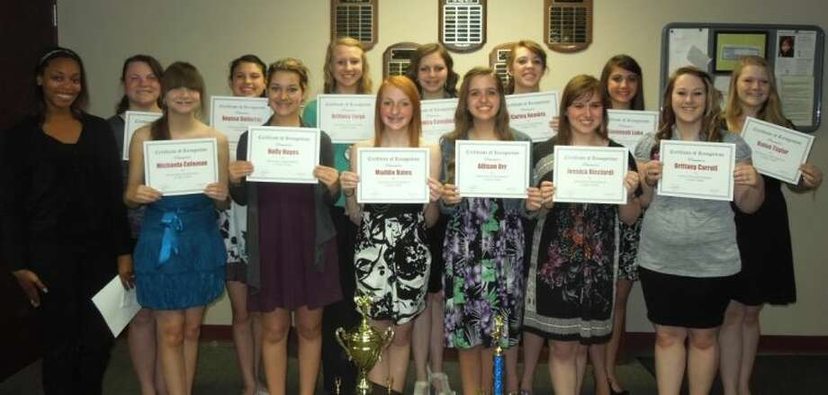 """Splendora High School's drill team, The Stars, completed their competition season earlier this Spring at the """"ShowMakers of America Contest"""" in San Antonio. The Stars were recognized for all of their hard work and dedication at the May 20 Splendora Independent School District board of trustees' meeting."""