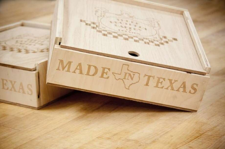 Three Brothers Bakery partners with woodworkers on pie boxes