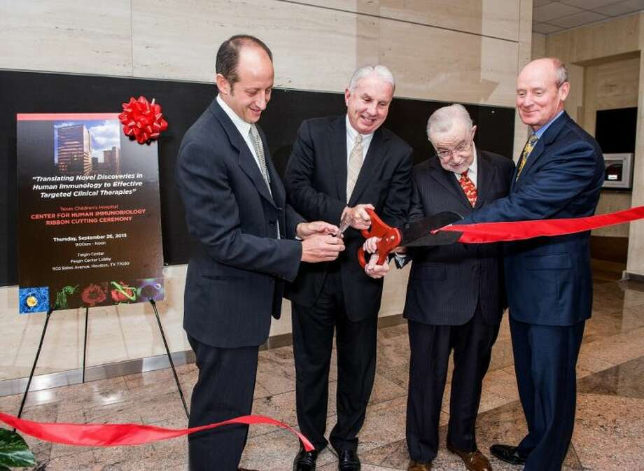 At a recent ribbon cutting ceremony, Texas Children's Hospital announced the opening of their Center for Human Immunobiology.