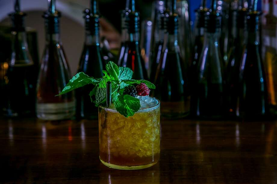 One of the year's best drinks: The Sherry Cobbler cocktail at Pacific Cocktail Haven in San Francisco. Photo: John Storey, Special To The Chronicle