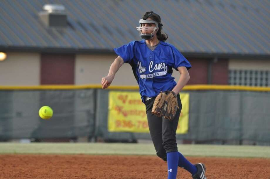 Ariel Kellogg helped New Caney to the Region II-5A quarterfinals as a senior.