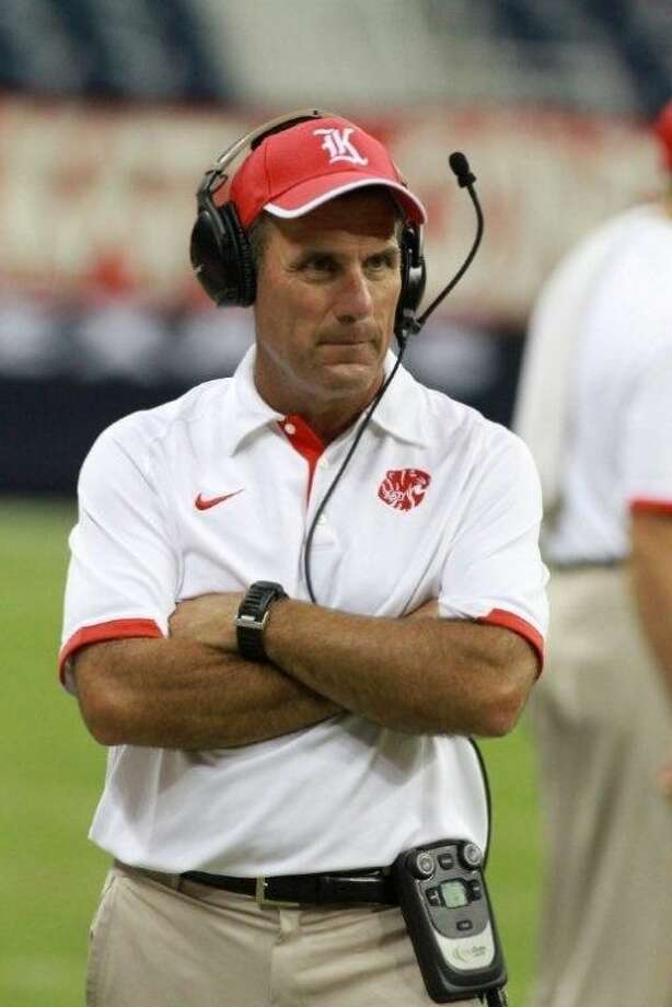 Katy High School football Coach Gary Joseph was named National Coach of the Year by American Football Monthly.