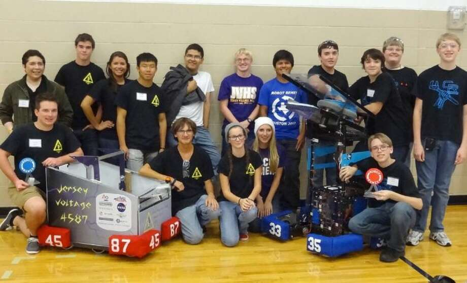 The Cypress Ranch and Jersey Village FIRST robotics teams placed first and second, respectively, at the Robot Remix competition on Nov. 2 in The Woodlands.