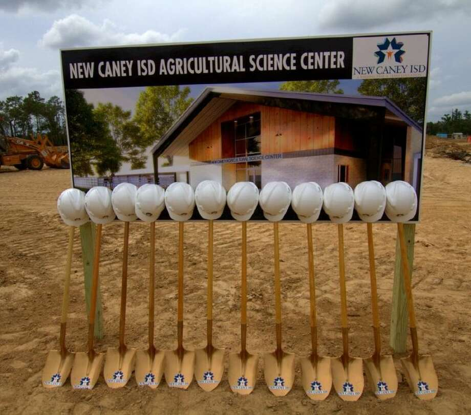 New Caney ISD held a groundbreaking ceremony on May 29 at the site of their new Agricultural Science Center.