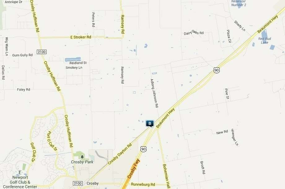 Law enforcement activity in the Crosby area Sept. 27-Oct. 3. Legend: B - burglary.