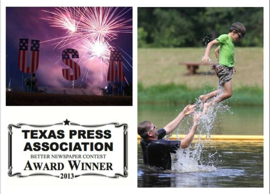 The Advocate won two first-place awards in the 2013 Better Newspaper Contest sponsored by the Texas Press Association. The winning categories were for feature photography and news writing. The two photos pictured above, taken by Jason Fochtman, made up the winning entry for feature photography.
