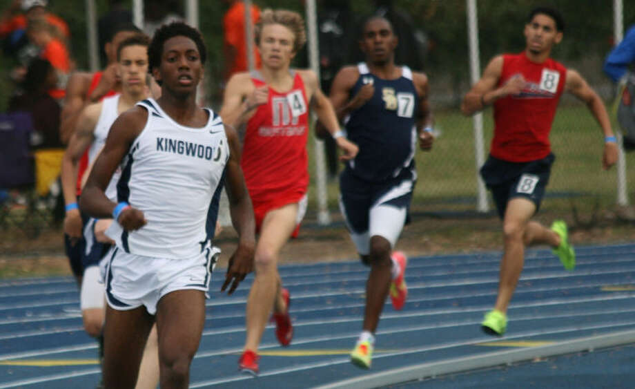 Kingwood sophomore Myles Marshall won the 800 meters at the Rice University Victor Lopez Bayou Classic. He also anchored the winning 4x800 relay and was second leg in the winning 4x400 relay.