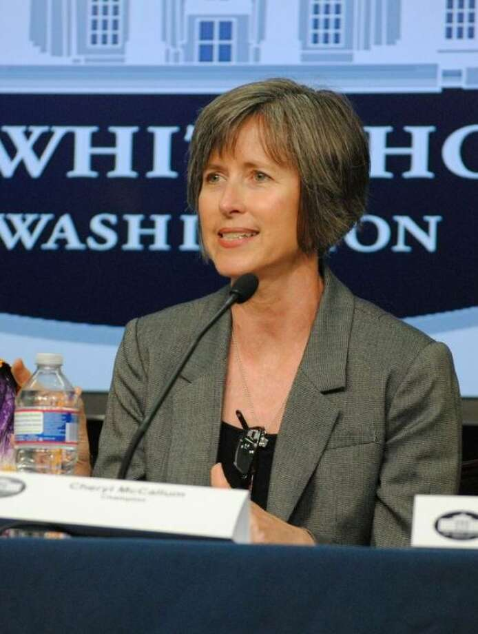 Cheryl McCallum honored by White House
