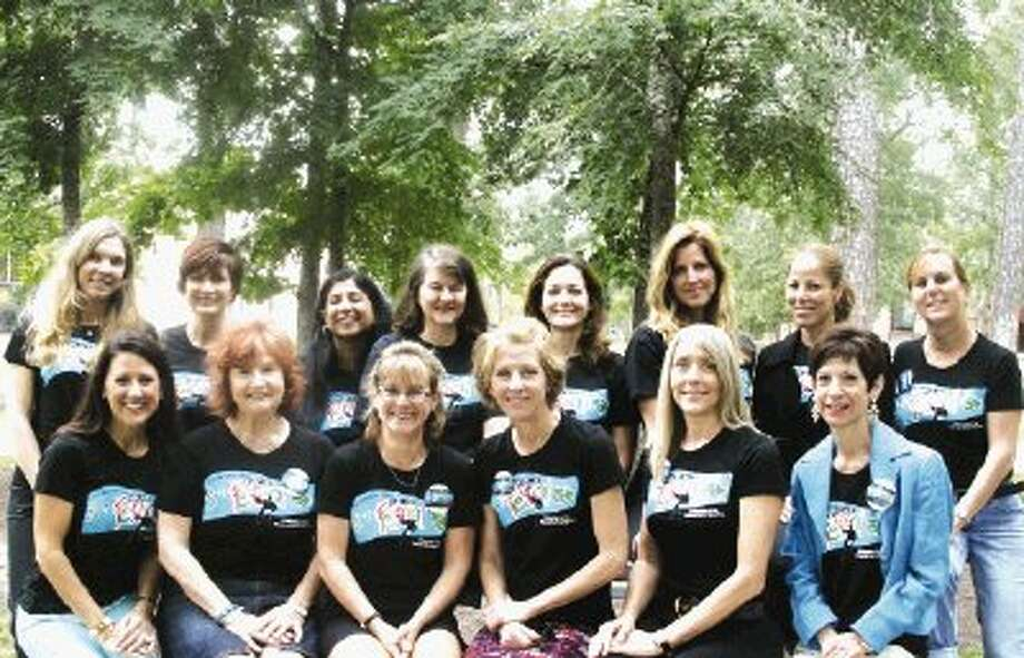Members of the planning committee for The John Cooper School's 11th Annual Fine Arts Festival wear t-shirts publicizing the full-day celebration of the visual and performing arts. The 2013 festival will be held at the school on April 27. Pictured are Denise Hayes, Cindy Cagle, Meg Garrison, Wendy Hammerstrom, Heather Dickens and Pam Robinson. Back Row: Malin Melin, Lia Reagan, Sangeeta Wahi, Jenny Tait, Heather Vaughn, Pam Oswald, Christine Winston and Anna McDonnell. Additional committee members include Tammy Stewart, Diane Ritter, Carmen Robertson, Paula Ann Miller, Isela Atwood, Pat Schwartz,Jen Holley, Michelle Leavitt,Amy Lecocq, Mary Paur and Stephanie Craig. For more information go to www.johncooper.org.