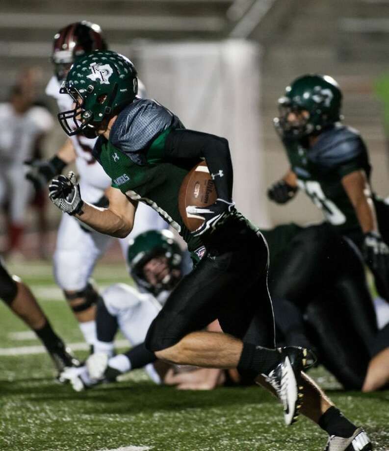 Kingwood Park's Caleb Lewallen and the Panthers will travel to play Barbers Hill on Friday.