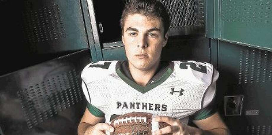 Oh so close last year to making the playoffs, tight end Jordan Feuerbacher is back and ready to help his team make the playoffs in his senior year. / @WireImgId=2639610
