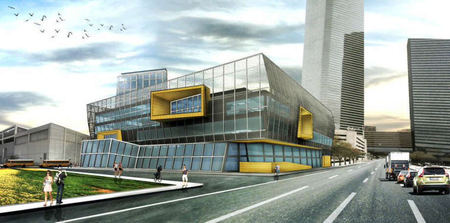 Preview possible designs for HSPVA's new downtown campus from May 30-June 6 at the HSPVA Gallery.