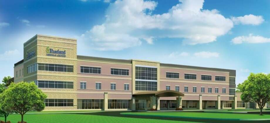 Artist's rendition of the $71 million, 144,000-square-foot Pearland Medical Center.