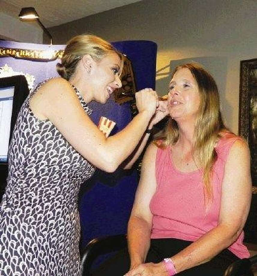 Make overs by Mary Kay were only one of the many pamperings that ladies of the Crosby and Huffman areas were able to receive at a past Diva Night.
