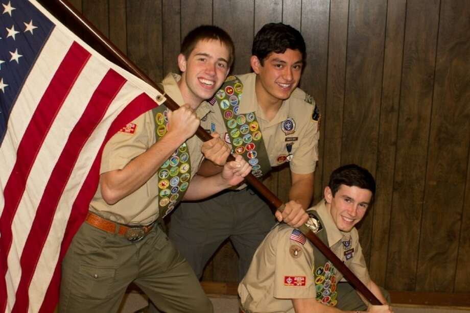 Troop 642 Scouts Ben Butler, Timothy Davis and Raleigh Davis were recently awarded the rank of Eagle.