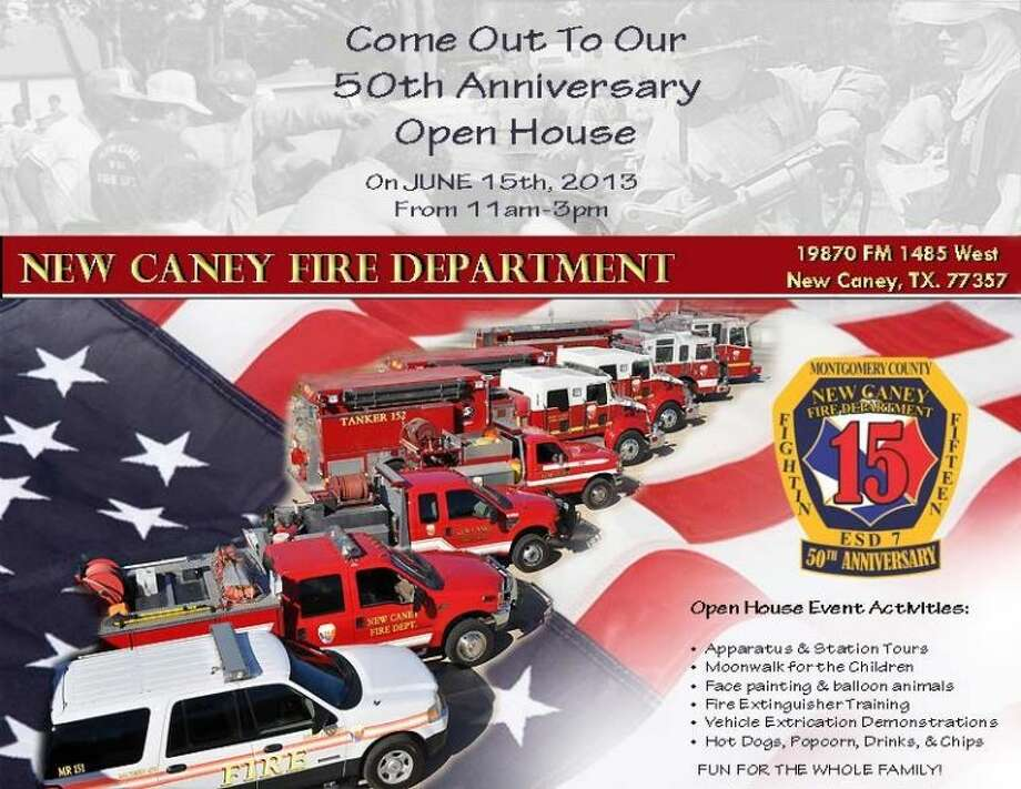 New Caney Fire Department hosts 50th anniversary open ...