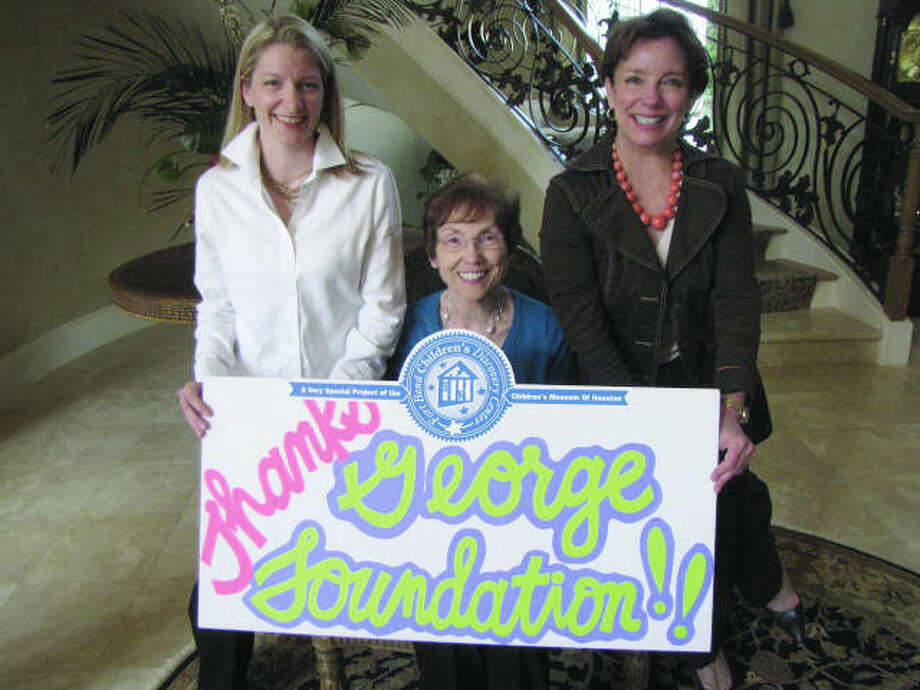 Pictured (From Left to Right): Capital Campaign Co-Chairs Rachel Leaman and Charlene Pate, and Children's Museum of Houston Executive Director Tammie Kahn.