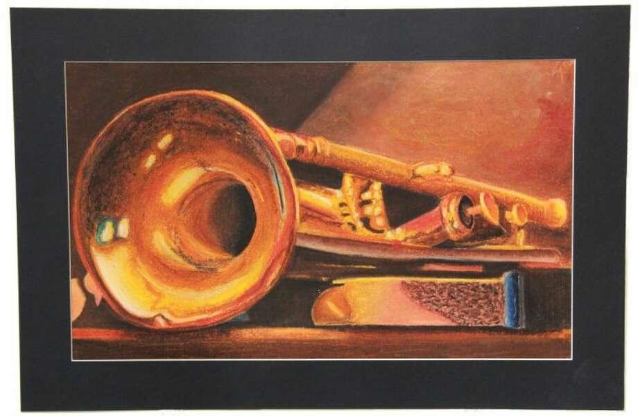 Art entry of Juana Torres of Bondy Intermediate School.