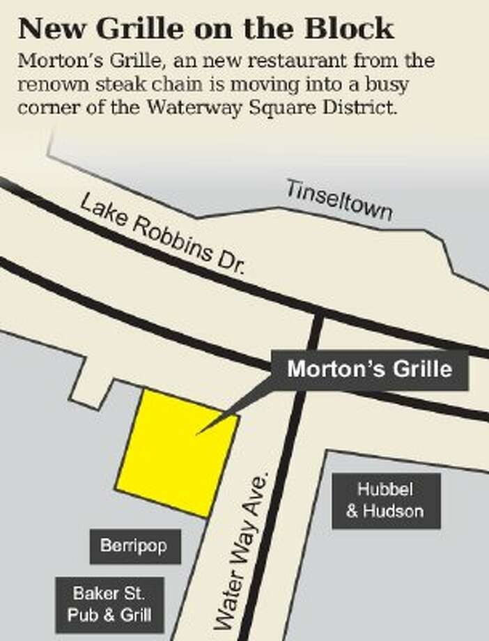 Woodlands Waterway adds Morton's Grille to list of restaurants