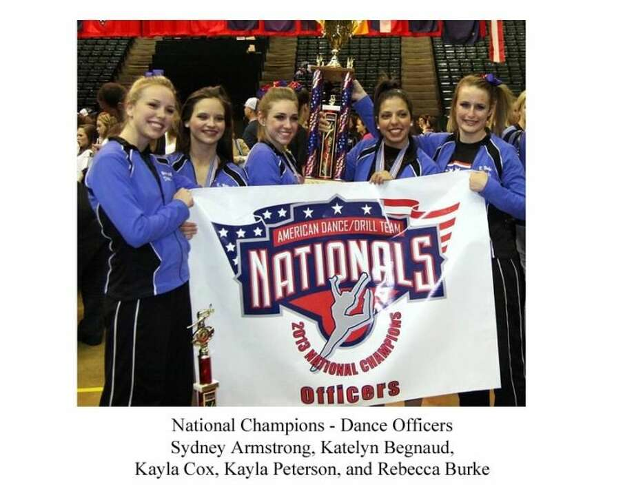 The FHS Wranglerettes attended the American Drill Team National Competition in March, and remained as NATIONAL CHAMPIONS for the 7th straight year. Photo: SUBMITTED PHOTO