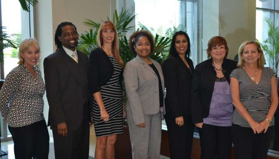 Janet Leatherwood, Chief Nursing Officer; Damon Smith, RN; Brooke Taylor, RN; Tosha Vaughn, RN; Tanuja Parmar, RN; Diane McGraw, RN and Becky Chalupa, Associate Chief Nursing Officer.