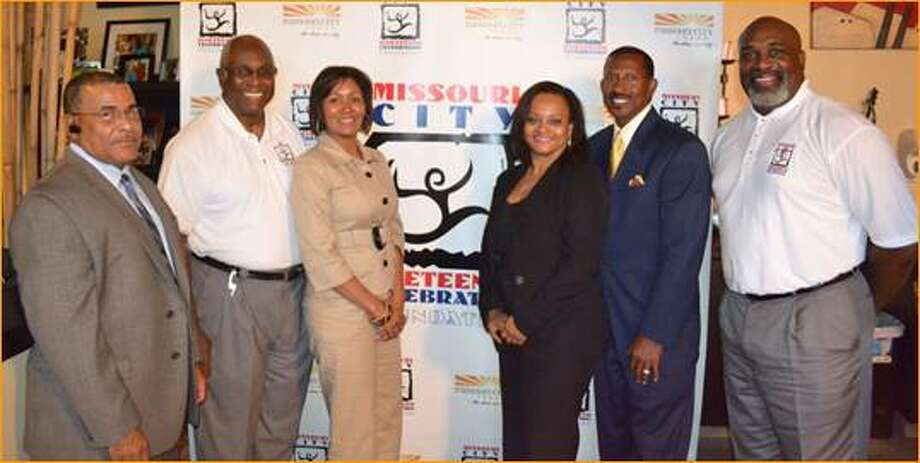 "The Missouri City Juneteenth Celebration Foundation is set to embark on its 11th year of community celebrations. Last year, MCJCF founding members marked the organization's golden anniversary; the members, pictured above, from left are: Michael Mouton, Councilman Don Smith, Sonja Thornton, Pamela Poole, Charles Swindell and Derrick Woods. This year's festivities will feature guest appearances by some special celebrities: ""Funky"" Larry Jones, of Houston's Majic 102.1 FM; J. Anthony Brown, of the nationally syndicated ""Tom Joyner"" Morning Show; and Wesley Jonathan, of the hit TV Land sitcom, ""The Soul Man""."