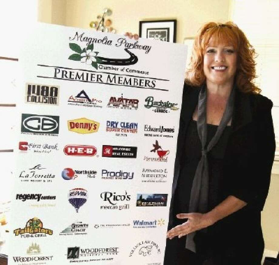 New Magnolia Parkway Chamber President Tammy Carnley has plans to increase membership programs in 2013.