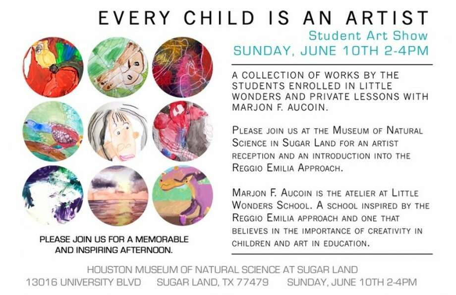 "For the second year in a row, the center will be hosting its ""Every Child is an Artist"" art show at the Museum of Natural Science Sugar Land on Sunday, June 10, from 2 to 4 p.m to show off some of the artwork created by its students."