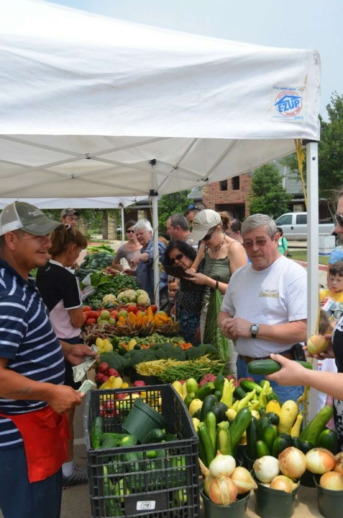 The Farmers Market at Bridgeland is gearing up for its scheduled Aug. 12 opening.