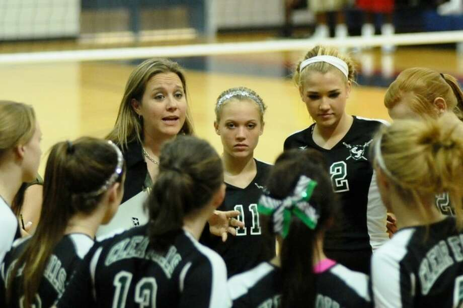 Clear Falls head coach Lyndsay Hodges and the Lady Knights are off to an impressive 7-1 start, and almost defeated perennial power Cy Woods last week in the CFISD Invitational.