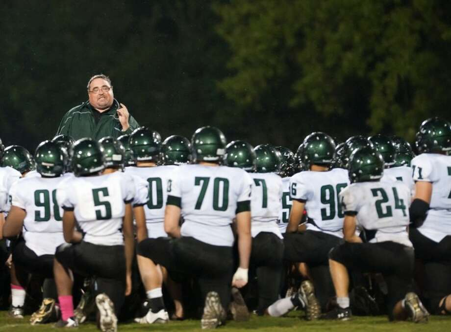 Clear Falls head coach Mike Zierlein hopes to create a strong atmosphere of competition this spring as the Knights prepare for their first full season of varsity football.