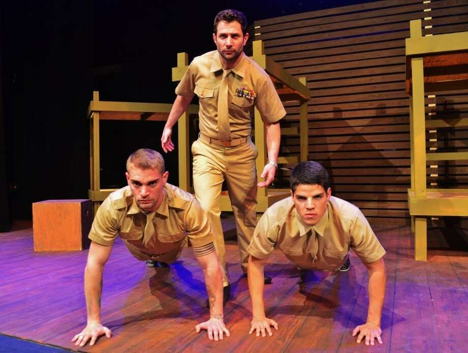"Don't miss Jeffrey Ruiz, Matt Stobaugh and Richard Berrios in ""Biloxi Blues,"" a Neil Simon comedy for mature audiences, on stage Feb. 23-March 4 at Lone Star College-CyFair."
