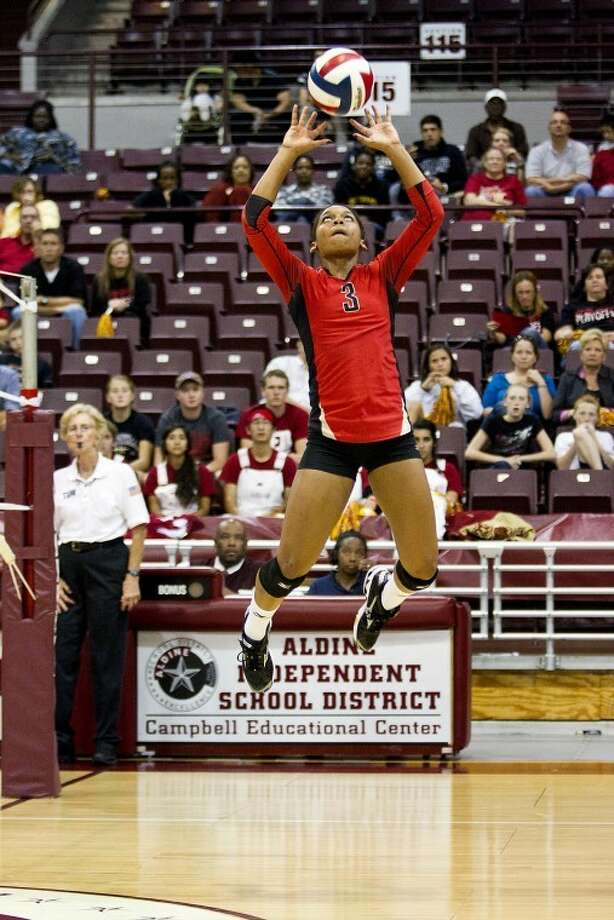 Cy Woods' Chloe Collins was District MVP last year and the Wildcats have high expectations yet again.