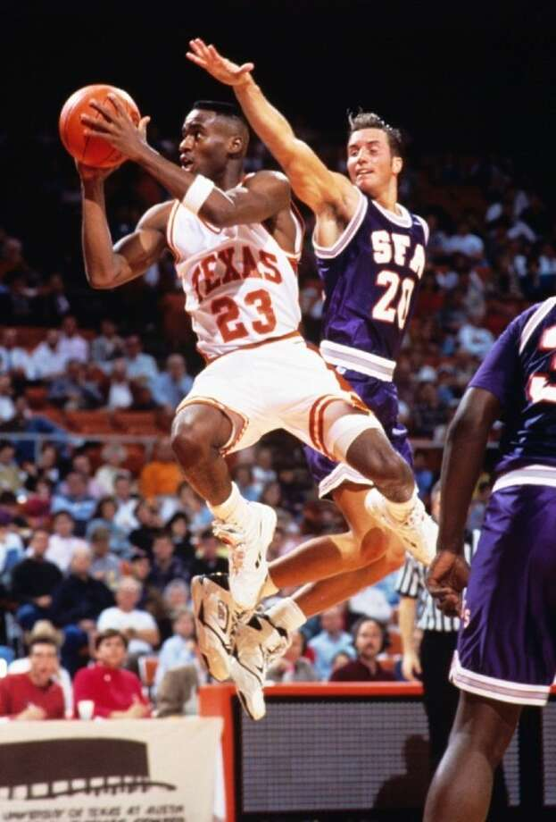 Michael Richardson, a League City resident, led the Southwest Conference in scoring as a University of Texas senior in 1992-93.