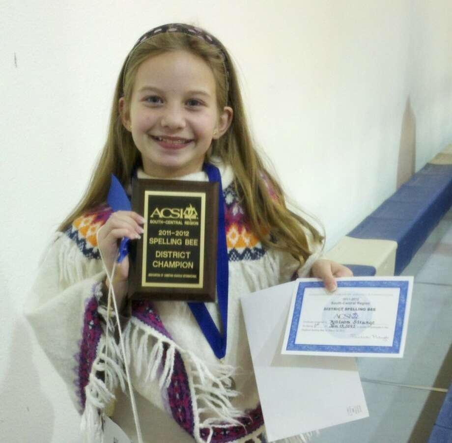 Student Earns First Place at Regional Spelling Bee
