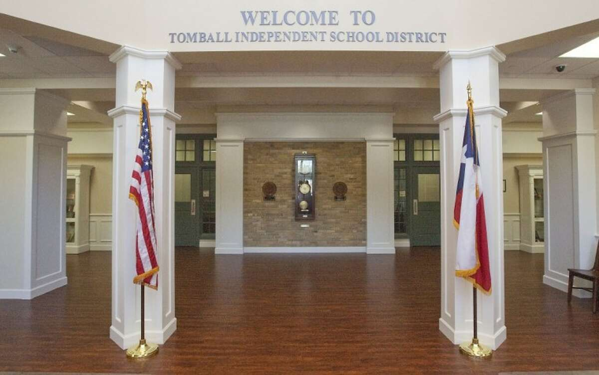 The new John P. Neubauer Administration Building in Tomball.