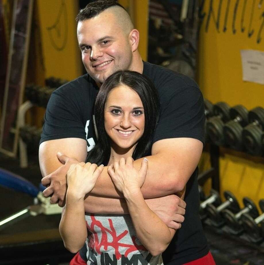 Tarkington graduate Mandie Walters and her power lifting fiance, John Sullivan of Splendora, have dedicated themselves to living a healthy lifestyle and have gained notoriety at many fitness competitions. Photo: Submitted Photo
