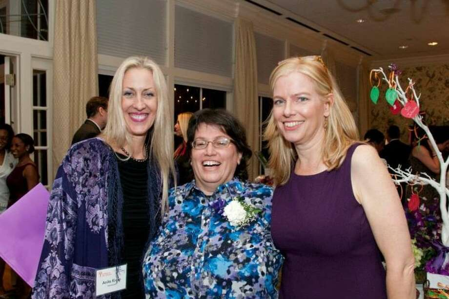 Anita Kruse, Robin Reagler and Mary Scott Hagle enjoy the Writers in the Schools (WITS) celebration of 30 years of creativity at its annual benefit and silent auction, A Celebration of Story, Thursday, November 14 at the Junior League of Houston.