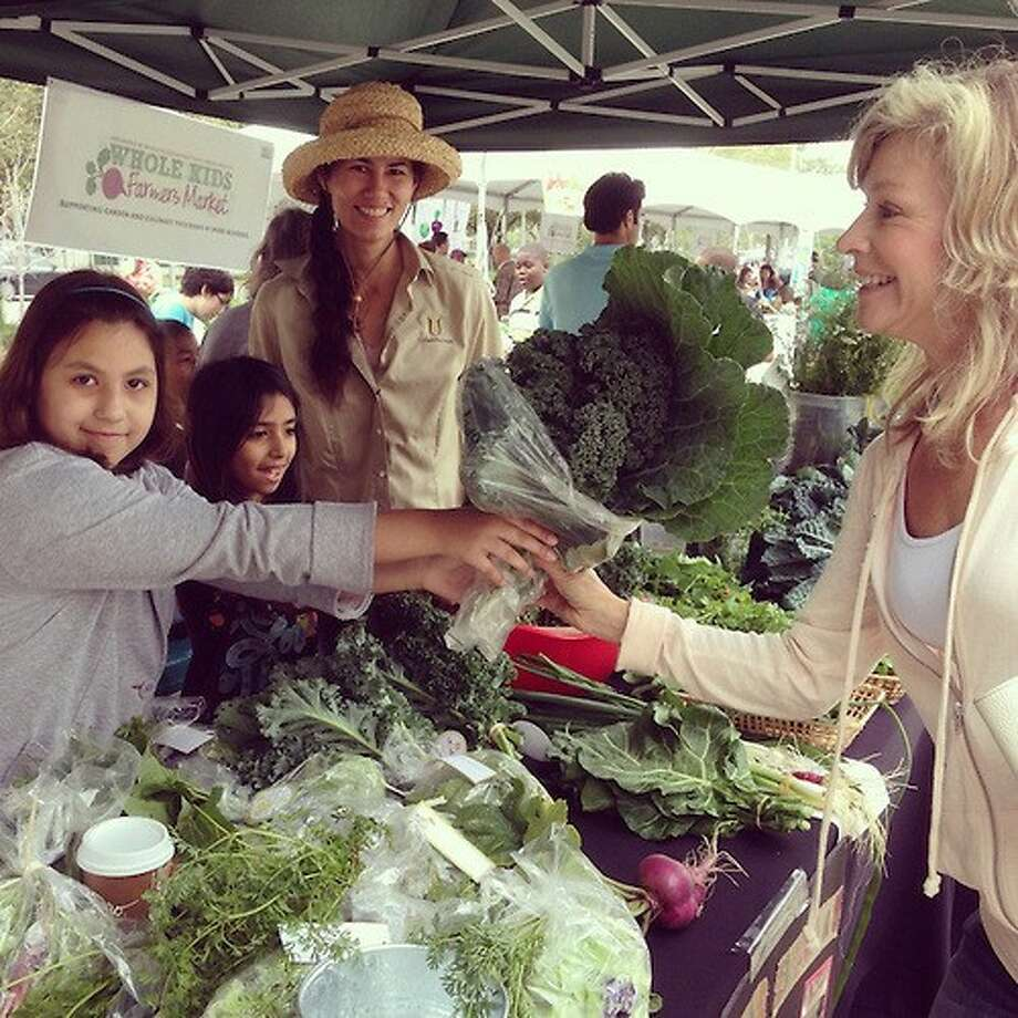 This weekend's Whole Kids Farmers Market is the third of its kind. Another market will be held in the spring.