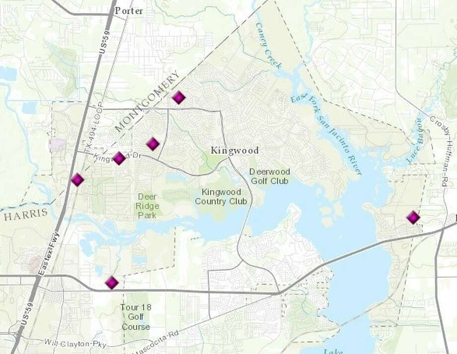 Burglaries in Kingwood as reported by HPD for the period of Nov. 14-20.