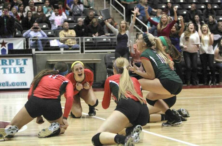 The Woodlands became the 18th undefeated volleyball state champion in UIL history since 1967 by sweeping Churchill in November.