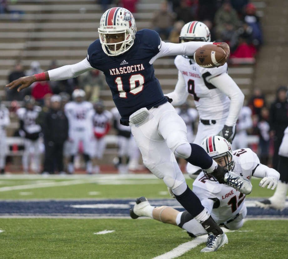 Eagles quarterback Greg Campbell committed to UTSA on Christmas. Photo: ANDREW BUCKLEY