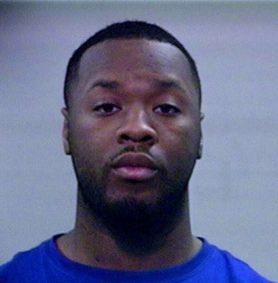 Lamarkus Dakendris Simpson, 22, of Houston was arrested on felony assault charges. Photo: Brazoria County Jail